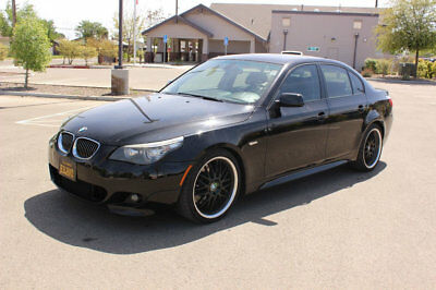 BMW 5 Series California 2 owner 6 speed manual sport package 2008 BMW 550I Sport 6 Speed Manual!!  2 Owner California 550I