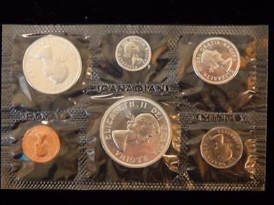 1964 Canada PL set 1.1 ounce of silver  NO reserve! (BK26)
