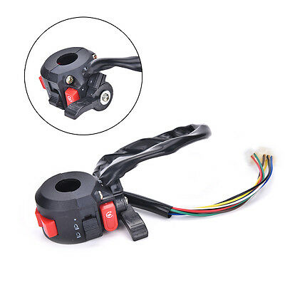 Left Start Kill ON-OFF Switch For Chinese ATV Quad With 22mm Handlebar 8-Wires J