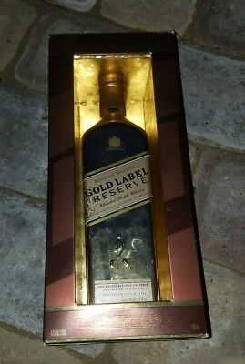 Johnnie Walker Gold Reserve Empty Bottle With Box
