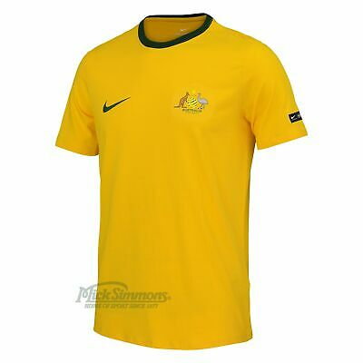 NEW Socceroos Gold Supporter T-Shirt by Nike