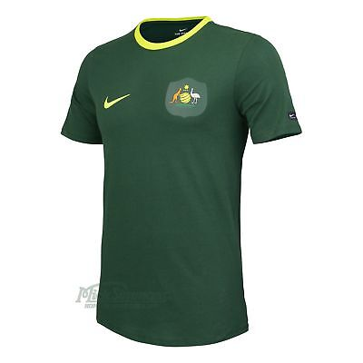 NEW Socceroos Green Supporter T-Shirt by Nike