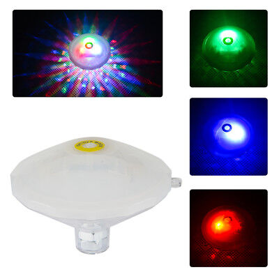 New Underwater LED Disco Lights Glow Show Swimming Pool Hot Tub Flash Spa Lamp