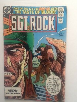 DC Comics SGT ROCK 379
