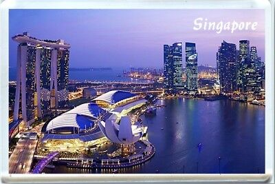 Singapore Fridge Magnet 2