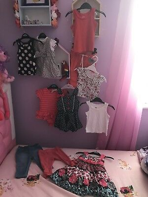 Baby Girls 3-6 mths summer Clothing bundle Next Ted Baker Monsoon Baby k other
