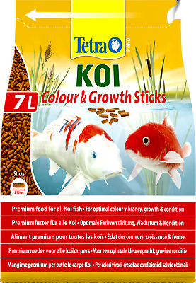 Tetra Pond Koi Colour and Growth Sticks 300g 1200g 2200g