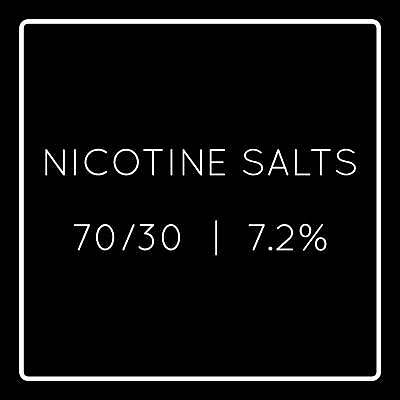 Drip Hacks COPY - Nicotine Salts 72mg 70%VG 30%PG Business to business only
