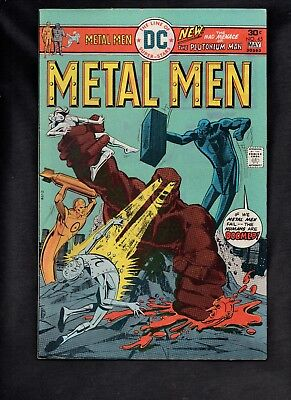Metal Men #45 Vg 1976 Dc