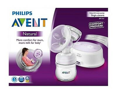 Phillips Avent Natural Single Electric Breast Pump
