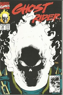 GHOST RIDER - No. 15 (July 1991) features GLOW in the DARK Cover (1st PRINT)