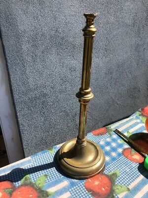 Antique GEC 56 Brass Lamp Stand/Holder