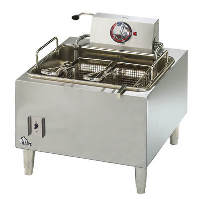 Star 301HLF Star-Max 15 lb. Electric Fryer with Two Baskets