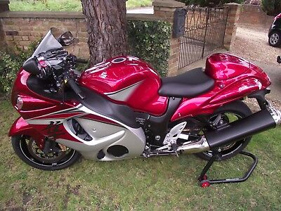 SUZUKI GSXR1340 HAYABUSA Ral6 2016 16 Plated Immaculate Touring Bike