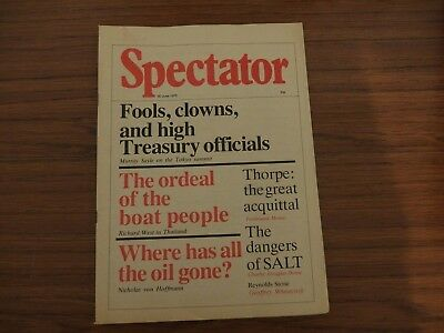 Spectator Magazine, 1979, 30th June. Very good condition.