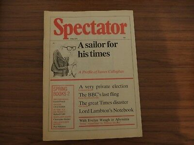 Spectator Magazine, 1979, 5th May. Very good condition.