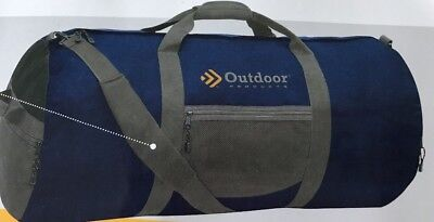 0188b351025e Outdoor Products Utility Duffle Bag Sports Camping Luggage Large Gym Black  Giant
