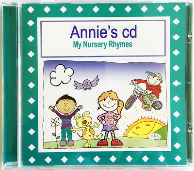 Nursery Rhymes CD   PERSONALISED Kids CD for children & babies. *new* GREAT GIFT