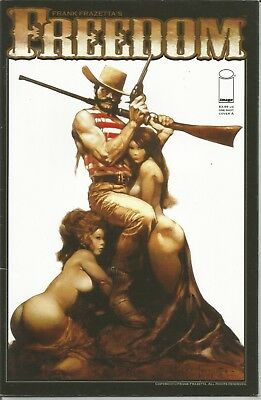 FREEDOM (Frank Frazetta's) - ONE SHOT (March 2009) - Cover 'A'