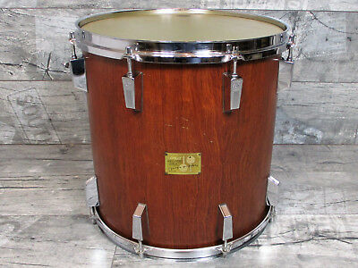 "Sonor Signature Horst Link Tom 15"" x 15"" Bubinga Heavy Shell Made in Germany"