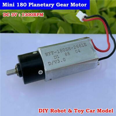DC 5V 2-Phase 4-Wire Stepper Motor Full Metal 10MM Gearbox Gear Motor DIY Robot