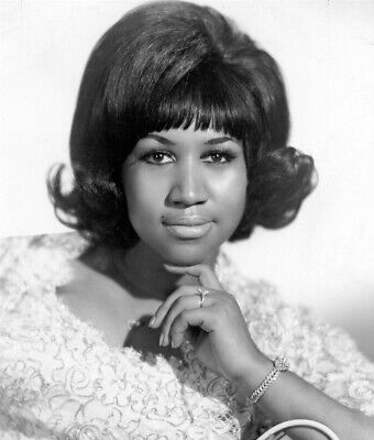 Aretha Franklin Queen of Soul 10x8 Music 1968 Publicity Photo Print Picture