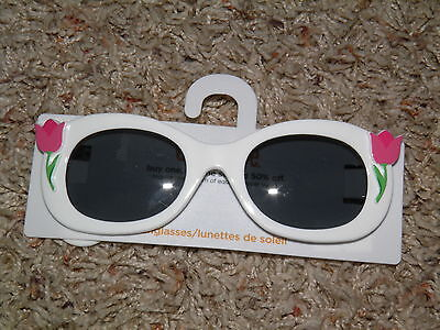 "GYMBOREE ""Bright Tulip"" Sunglasses Ages 4 & Up ~ NEW!"