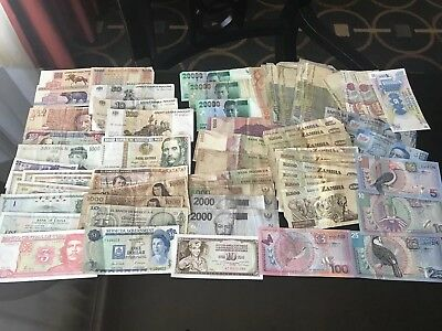 Lot Of 81 Bank Notes