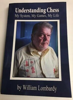 Understanding Chess My Life My Game AUTOGRAPH Chess Grand Master Lombardy