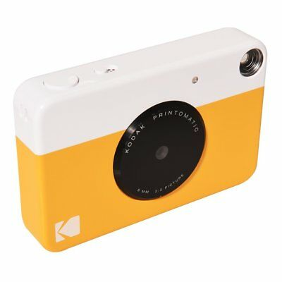 Kodak PRINTOMATIC Yellow Digital Instant Print Camera - Print Memories Instantly