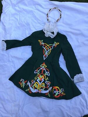 Handmade Irish Step Dance Dress