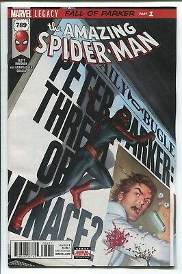 Amazing Spider-Man #789 - Alex Ross Cover - Marvel Legacy - Marvel Comics/2017