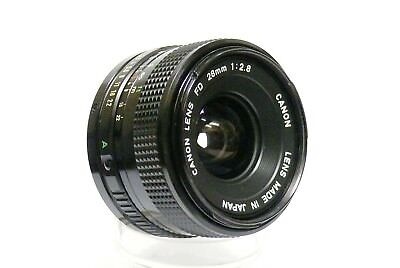 Canon Fd 28Mm F2.8 Wide Angle Lens. Excellent Condition, Hardly Used.