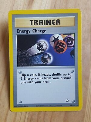 TRAINER Energy Charge  85/111 - RARA* - Neo Genesis (eng) - (ba1078)
