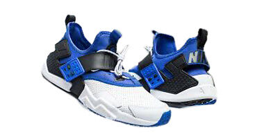 100% authentic 4898e 81fdb Nike Air Huarache Drift Premium White Racer Blue-Black (AH7335 103)