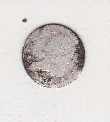 Very Scarce Obsolete Coin 1832 Silver Half Dime-   Free Shipping