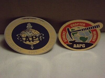 American Association Petroleum Geologists & Student Chapter Member AAPG Stickers