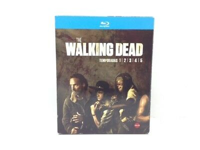 Pelicula Bluray The Walking Dead Temporadas 1/2/3/4/5 2930307
