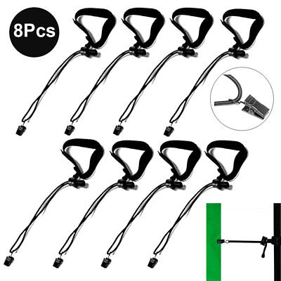 8Pcs Photography Studio Background Backdrop Clips Clamps Holder Multifunctional