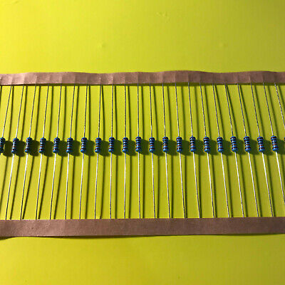 1/4W .25 Watt 1% Tolerance Metal Film Resistor 20 Pieces USA SELLER