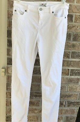 Vineyard Vines Girl's Sz 14 White Jeans  Skinny EUC! Young Youth Ladies Summer
