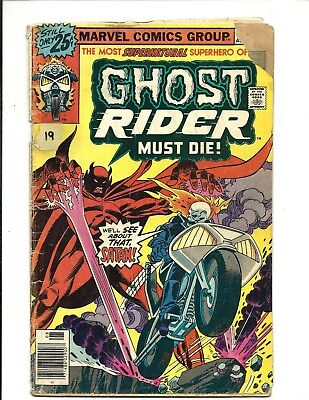GHOST RIDER (Vol.1) # 19 (CENTS ISSUE, AUG 1976), GD+