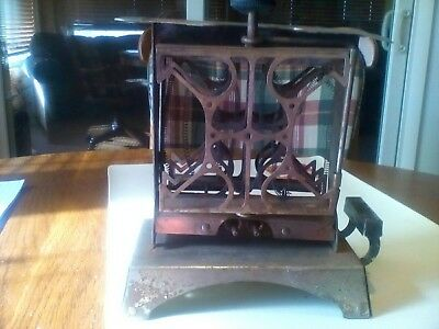 Antique Star Electric Toaster Fitzgerald Mfg Model 75000 Flip Out Sides !!