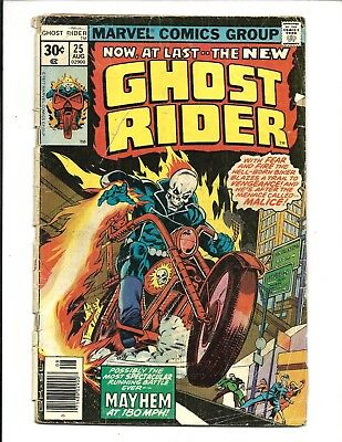 GHOST RIDER (Vol.1) # 25 (CENTS ISSUE, AUG 1977), GD+