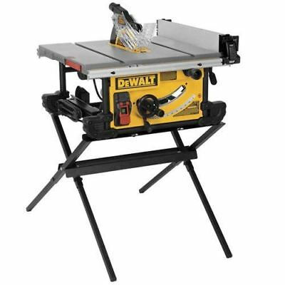 10 in. Job Site Table saw with Scissor Stand (DWE7490X)