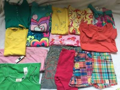 Girls New Size 10, 10-12 Summer Lot Gap Arizona Tcp Limited Too Tops And Shorts