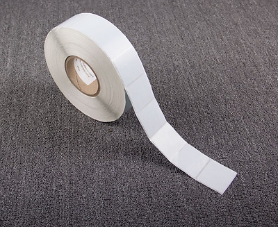 2000 BLANK PAPER SECURITY LABEL 1.5X1.5 INCH RF 8.2MHZ CHECKPOINT EAS 40 mm