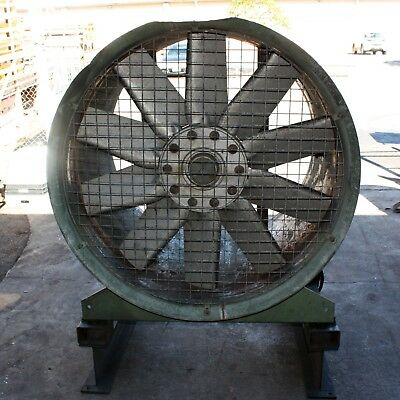 "G.W. AXIAL 3 PHASE 48"" 1220mm 5.91kW Fan Ventilation Air Conditioning HVAC"