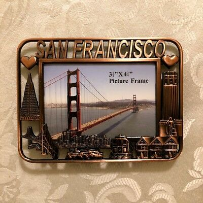 New San Francisco Sf Souvenir Picture Frame