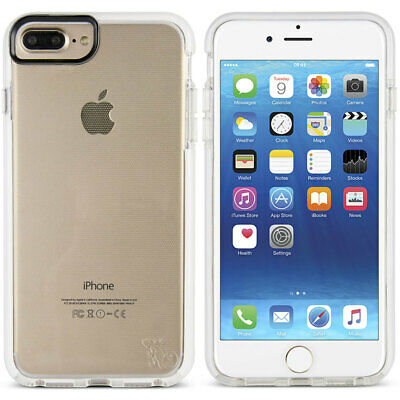 Gecko Ultra Tough/Slim Bump Case Shock Absorbing For iPhone 6/6S/7/8 Plus White